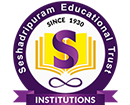 SESHADRIPURAM COLLEGE - Post Graduate Department of Commerce and Management logo
